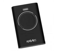 Faac XT2 пульт-брелок 433 МГц, 2-канальный, черного цвета