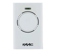 Faac XT4 белый пульт-брелок д/у для ворот и шлагбаумов