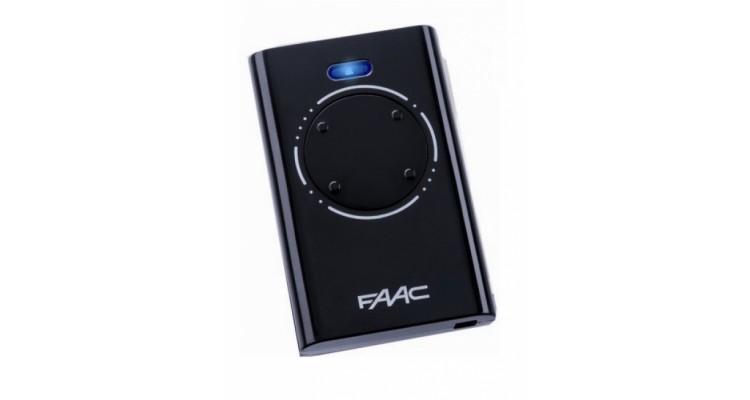Faac XT4 черный пульт-брелок д/у для ворот и шлагбаумов