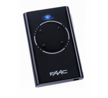 Faac XT4 пульт-брелок 433 МГц, 2-канальный, черного цвета