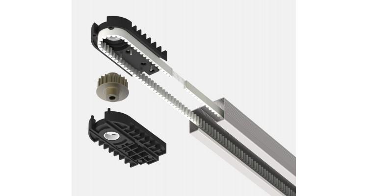 Alutech LGR-3600C Рейка приводная цельная с цепью
