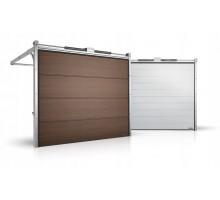 Гаражные секционные ворота серии Alutech Prestige 1750x2625