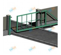 Ворота откатные 4300х2500 мм