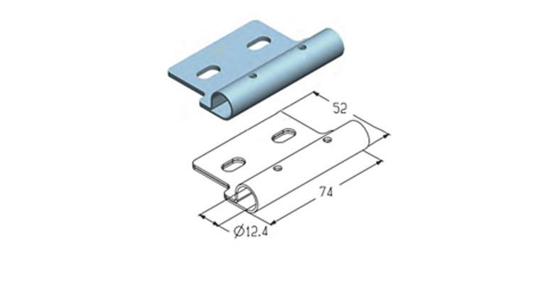 Alutech Накладка роликовая RP113
