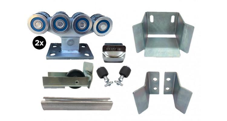 Ролтэк ЕВРО комплектующие для откатных ворот до 800 кг (9м)