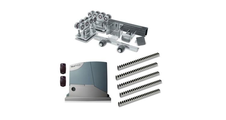 Ролтэк МИКРО комплектующие до 350 кг (6 м) + автоматика Nice RD400KCE