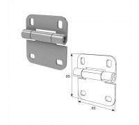 Внутренняя петля облегченная для панелей с новой формой профиля RAL9003