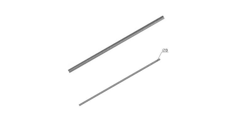 Трос стальной 3 мм