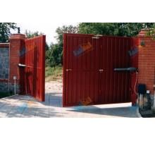 Ворота распашные 5500х2750 мм