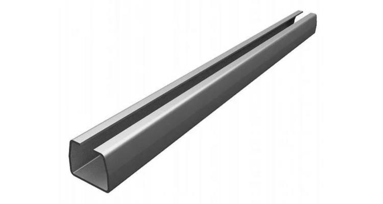 Doorhan направляющая 71х60х3,5 до 400 кг (1м) DHS71/M