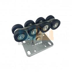 Опора роликовая (полимерные ролики) для ворот Alutech до 300 кг (SGN.01.100)