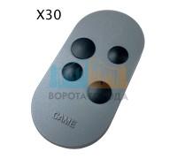 Брелок-передатчик 4-х канальный с динамическим кодом CAME TOP44RGR 806TS-0130 (30 шт)
