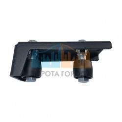Направляющее устройство Doorhan увеличенное с новыми роликами RAL9005 DHSN210/RAL9005