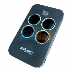 Faac XT4 RC пульт-брелок 433 МГц, 4-канальный, черного цвета 787456