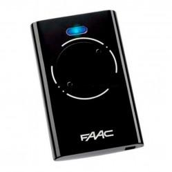 Пульт Faac XT2 868 SLH LR черный для ворот и шлагбаумов 7870091