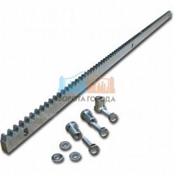 Рейка зубчатая Came на болтах (30х8 мм) 1 м, модуль 4 CA083001