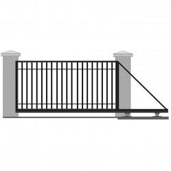 Ворота откатные решетчатые 5500х2250 мм