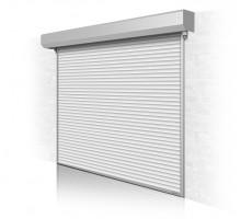 Рулонные ворота для гаража ALUTECH с автоматическим приводом 2200x2750 мм.