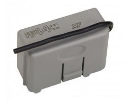 FAAC Радиоприемник 2-канальный встраиваемый в разъем XF 868 МГц (787832)