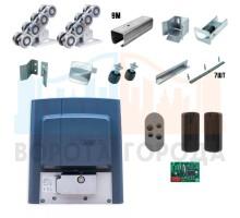 Ролтэк ЕВРО комплектующие для откатных ворот до 800 кг (9м) + автоматика Came BKS12AGS