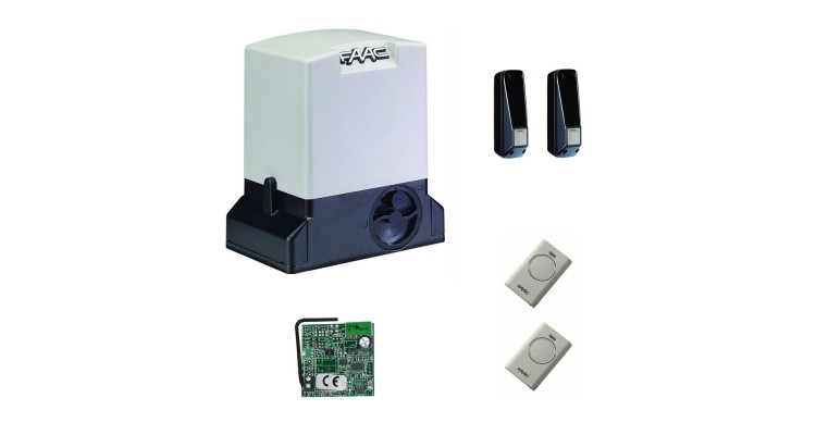 FAAC 740 KIT STD комплект автоматики для откатных ворот