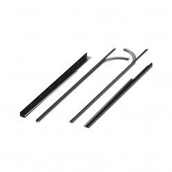 Комплект направляющих и угловых стоек №4 для ворот RSD01 под проем 2390мм (R4)