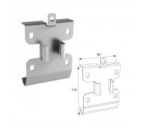 Кронштейн соединительный для двойных направляющих c крепежным адаптером