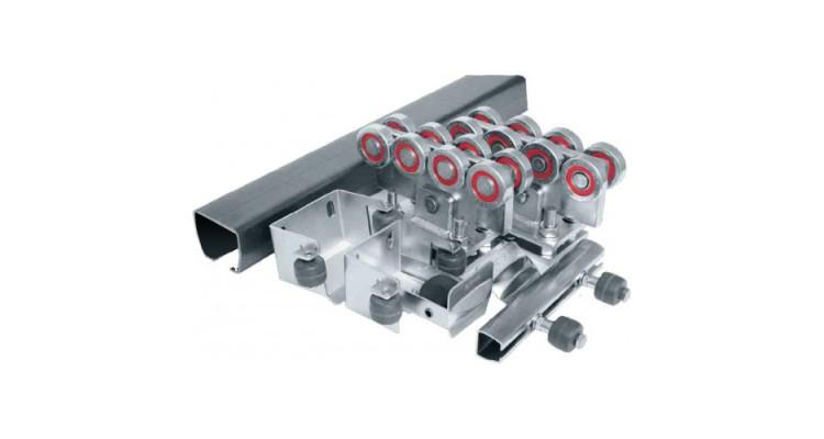 Ролтэк ЕВРО комплектующие для откатных ворот до 800 кг (7м)