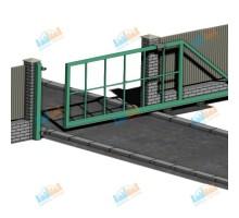 Ворота откатные 3750х2500 мм