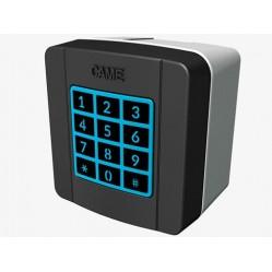 Came SELT1W4G клавиатура кодонаборная беспроводная накладная, 25 кодов, 433.92 МГц, цвет RAL7024 (806SL-0170)