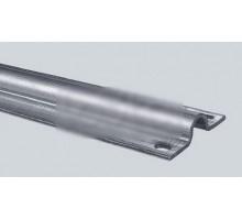 Came ROAD 6 - рельс оцинкованный, полукруглое сечение, крепление винтами, 6 м (арт. 1700162)