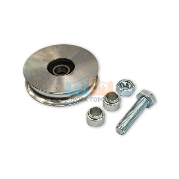 Came WO 824 - колесо с 1 подшипником, полукруглое сеч-е, D-80, до 150 кг (арт. 1700029)