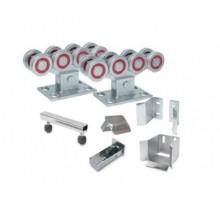 Ролтэк ЕВРО комплектующие для откатных ворот до 800 кг без балки