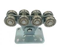 Опора роликовая (стальные ролики) для ворот Alutech до 450 кг (SGN.01.150)