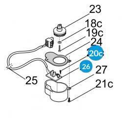 CAME Плата оптического считывателя G2081 G4041 119RIG156