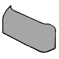NICE Боковая крышка-заглушка корпуса (цвет графит) PPD1867A.4540