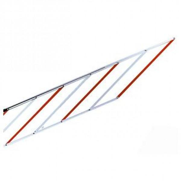 Nice алюминиевая шторка-решетка под стрелу 2м. WA13
