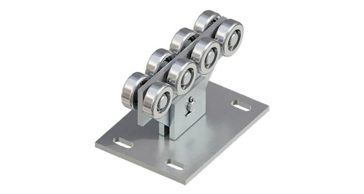 Опора ролика Doorhan модифицированная для балки 71х60х3,5 DHE700 до 400 кг