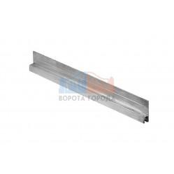 Came AD 25-3 Планка с вертикальной фиксацией для крепления щетки длина 3м (арт. 1700997)