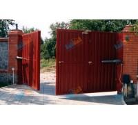 Ворота распашные 5000х2750 мм