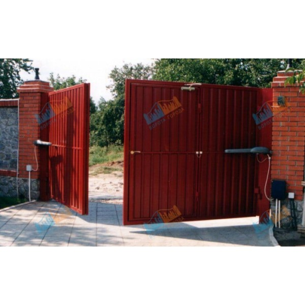 Ворота распашные 3000х2000 мм