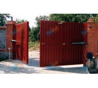 Ворота распашные 5500х3500 мм