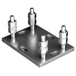 Подставка регулируемая Doorhan для балок 138х144х6 и 95х88х5 DHS200307