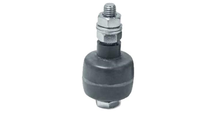 Ролтэк ролик резиновый с набором крепежа (стандарт) (арт. 040)