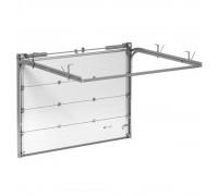 Гаражные секционные ворота Alutech Trend 2000х1875 мм