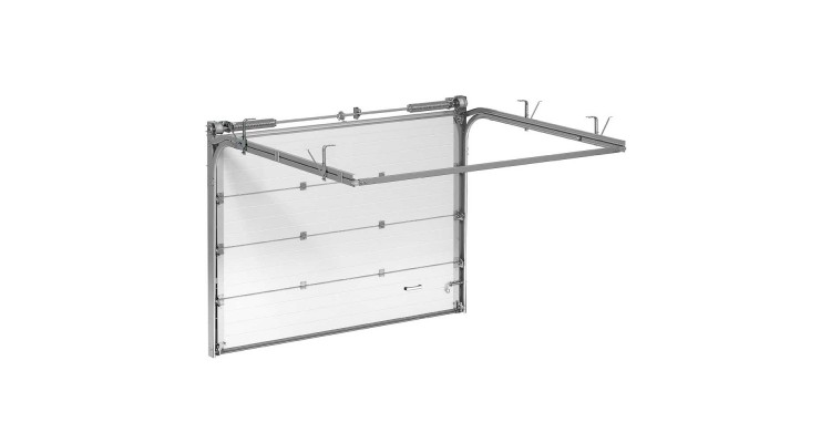 Гаражные секционные ворота Alutech Trend 2250х1875 мм