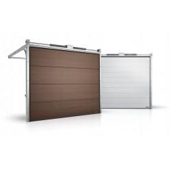 Гаражные секционные ворота серии Alutech Prestige 4375x3000