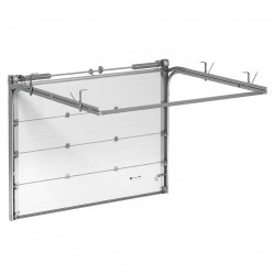 Гаражные секционные ворота Alutech Trend 5500х2375 мм