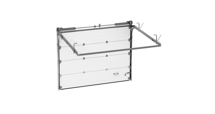 Гаражные секционные ворота Alutech Classic 2125х1750 мм