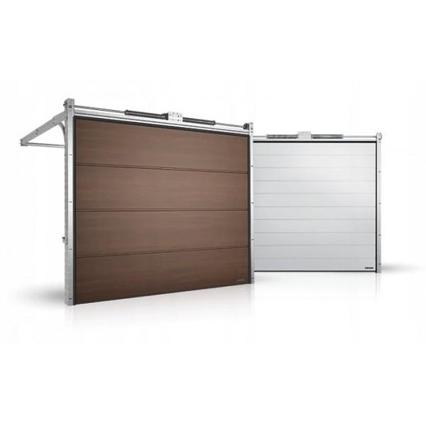 Гаражные секционные ворота серии Alutech Prestige 5875x2750